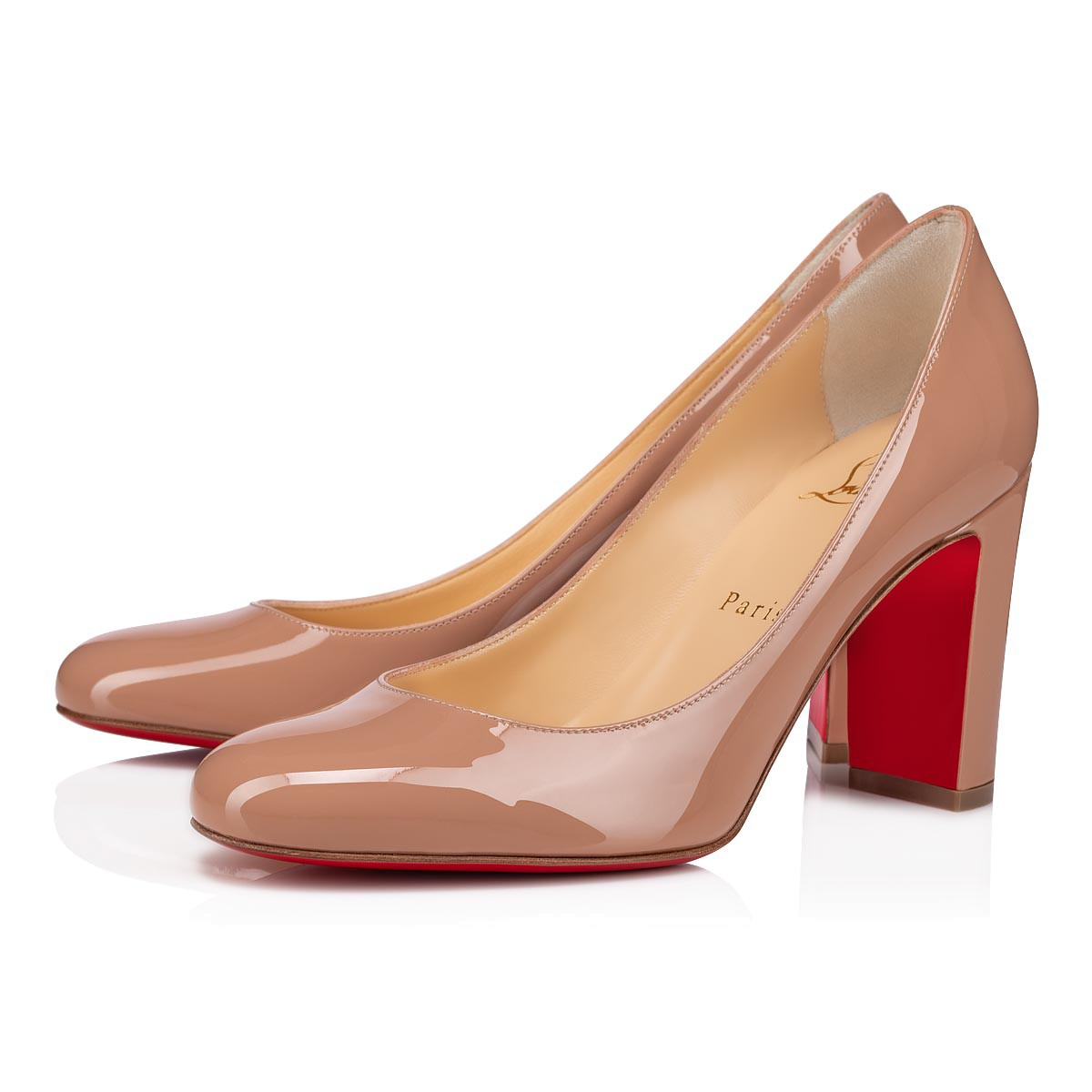 LADY GENA 85 NUDE PATENT - Women Shoes