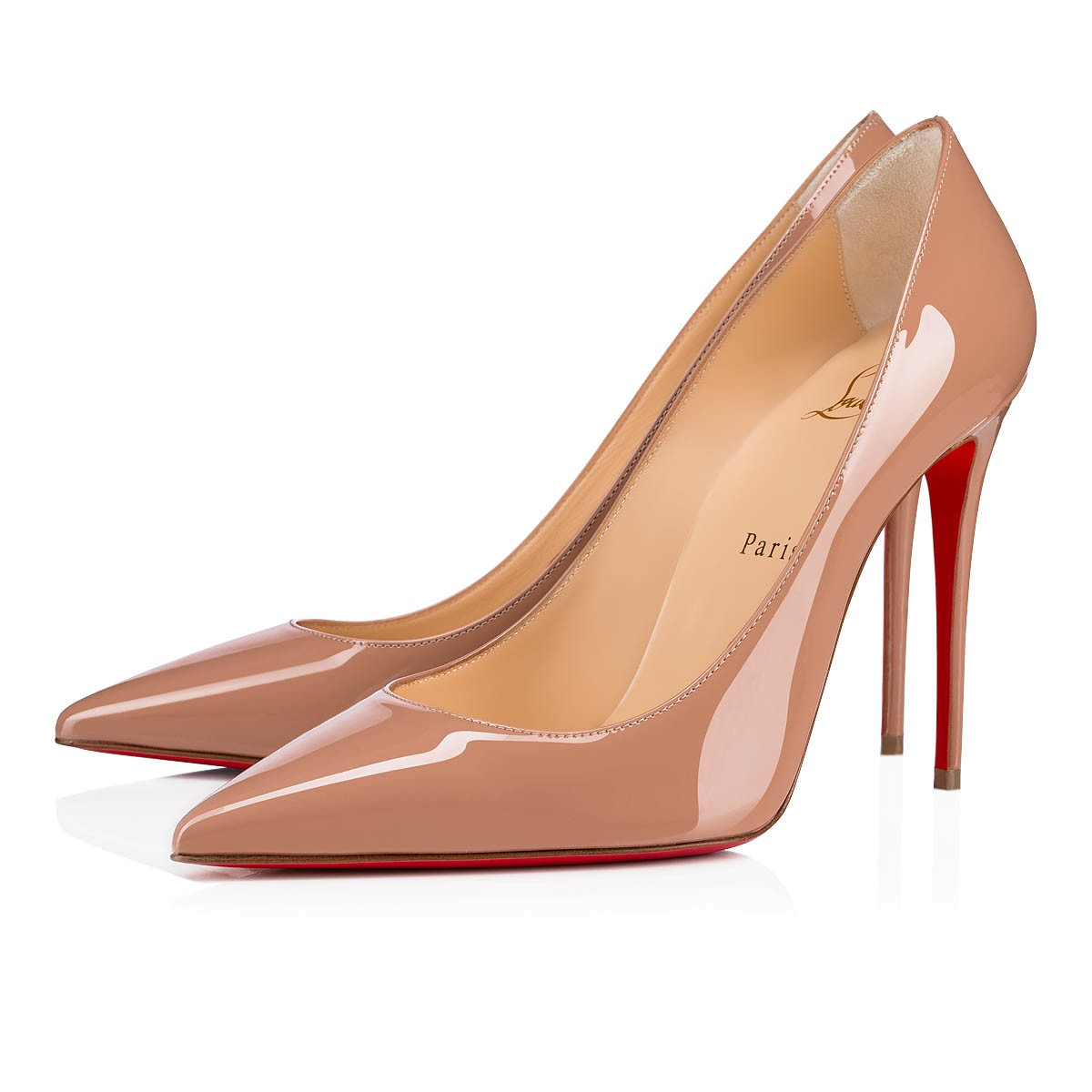 KATE 100 Nude Patent Leather - Women