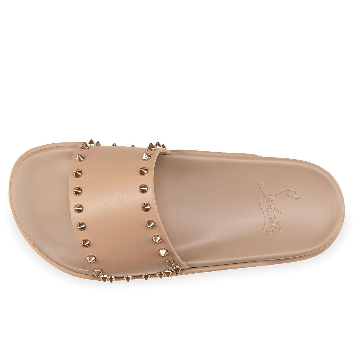 Shoes - Pool Stud Donna Flat - Christian Louboutin