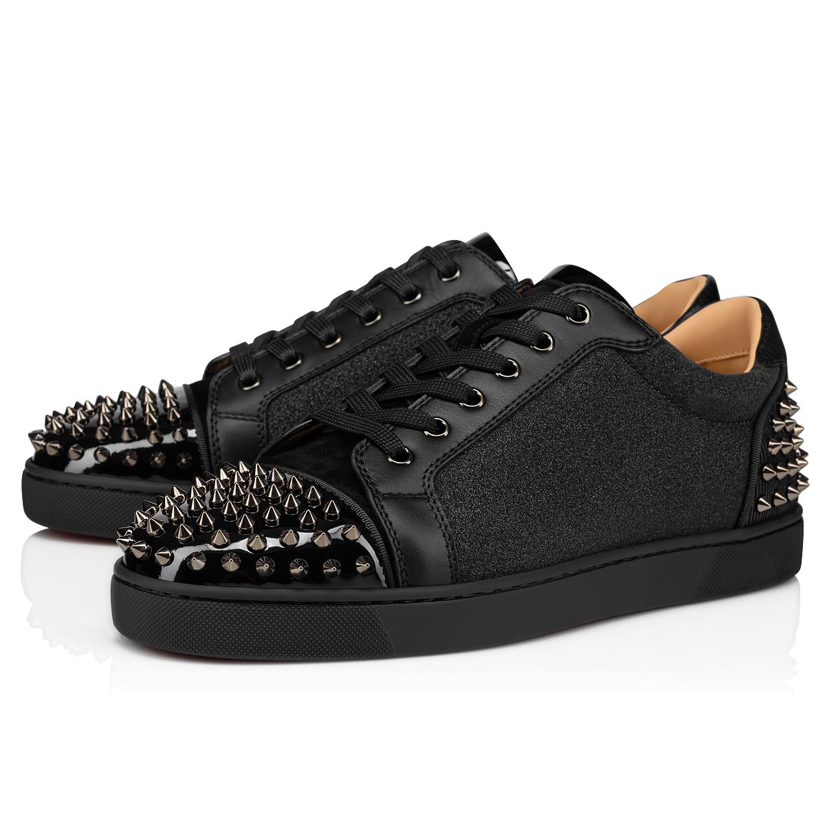 louboutin homme argent
