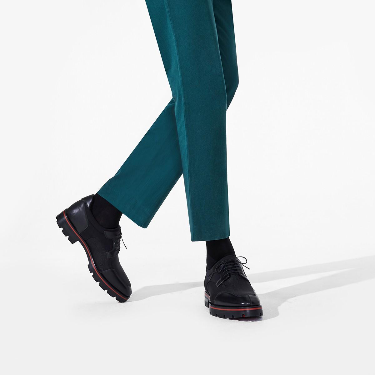 SIMON FLAT BLACK FABRIC - Men Shoes