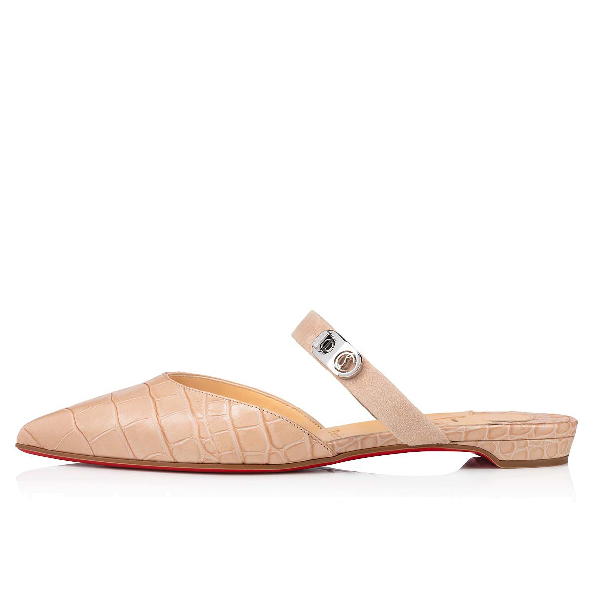 Shoes - Choc Lock Flat - Christian Louboutin