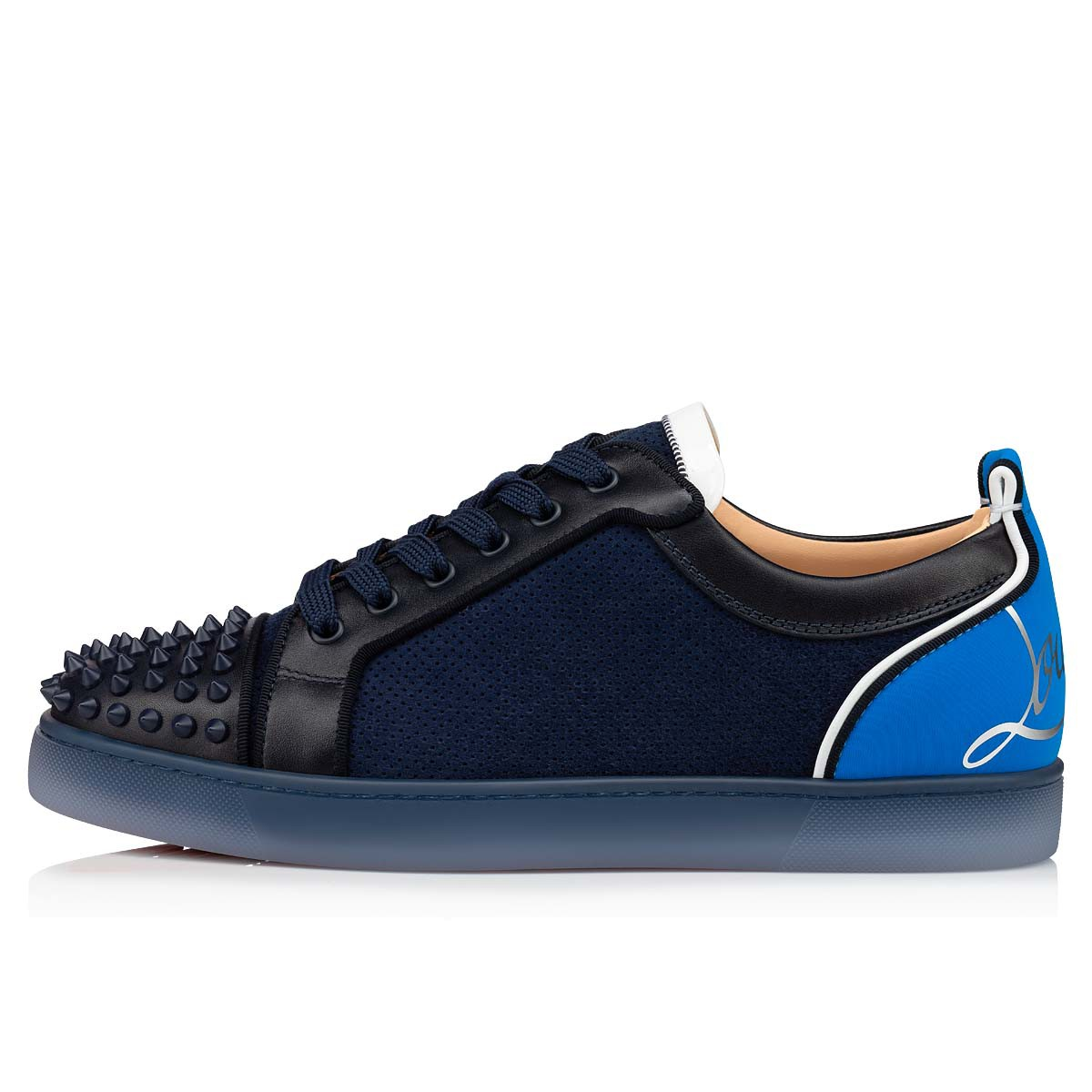 Shoes - Fun Louis Junior Spikes Flat - Christian Louboutin
