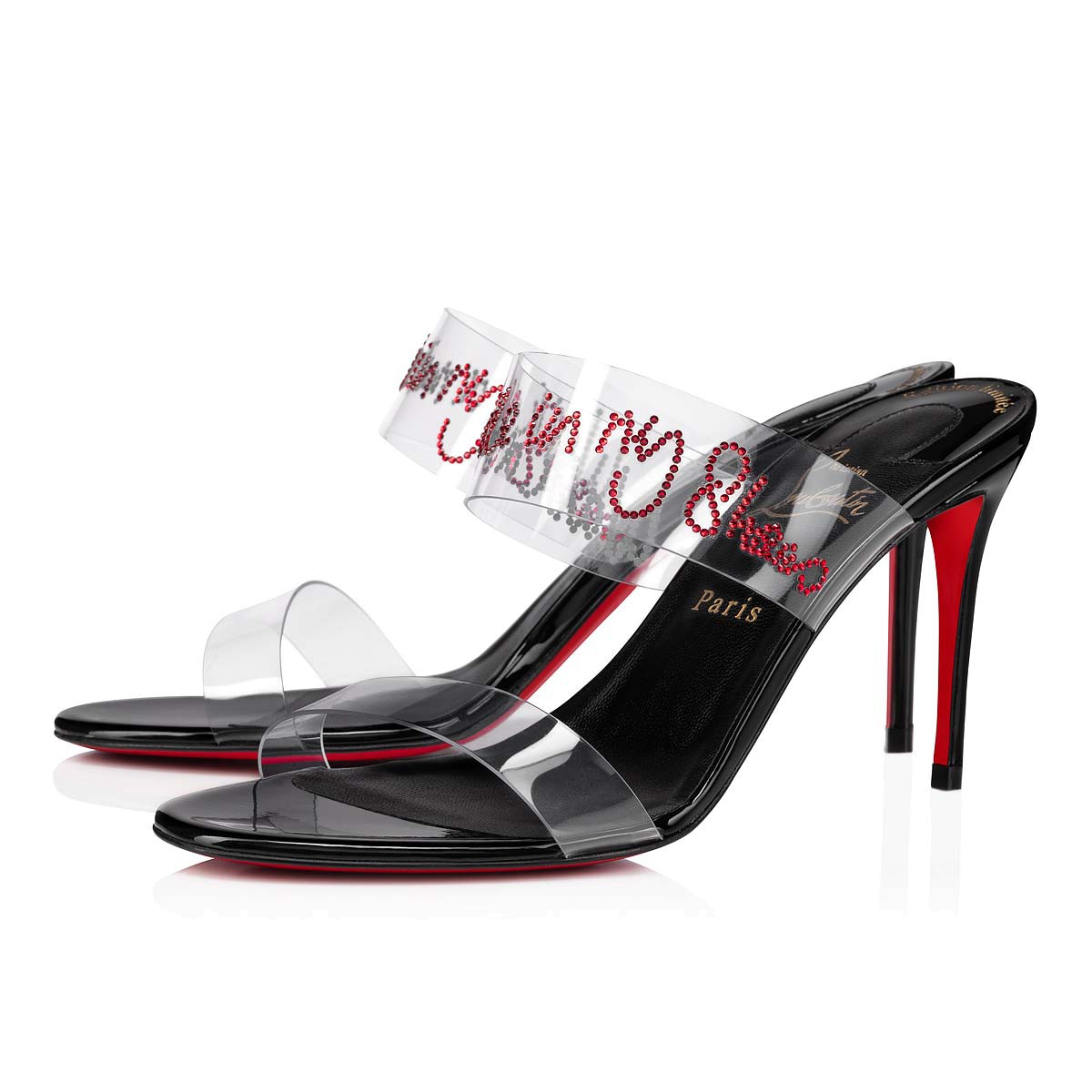 Shoes - Just Walking Strass - Christian Louboutin