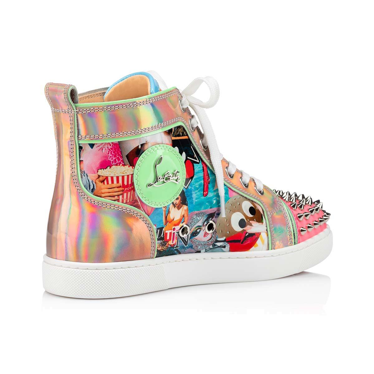 Shoes - Lou Spikes Woman Flat - Christian Louboutin