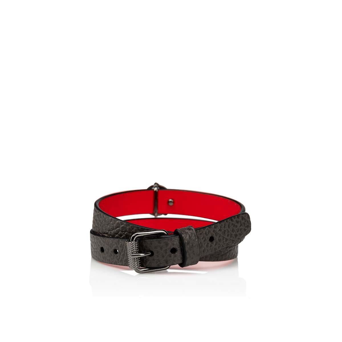 Small Leather Goods - Loubilink Logo Bracelet Double - Christian Louboutin