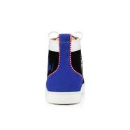 Shoes - Navy Louis Flat - Christian Louboutin