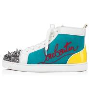 Shoes - Navy Lou Pik Pik Flat - Christian Louboutin