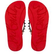 Shoes - Loubi Flip Spikes Donna Flat - Christian Louboutin