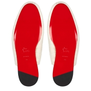Shoes - Navy Coolito Donna Flat - Christian Louboutin