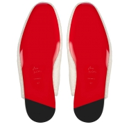Shoes - Navy Coolito Flat - Christian Louboutin