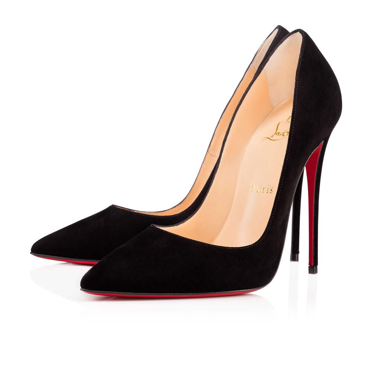SO KATE 120 Black Suede - Women Shoes